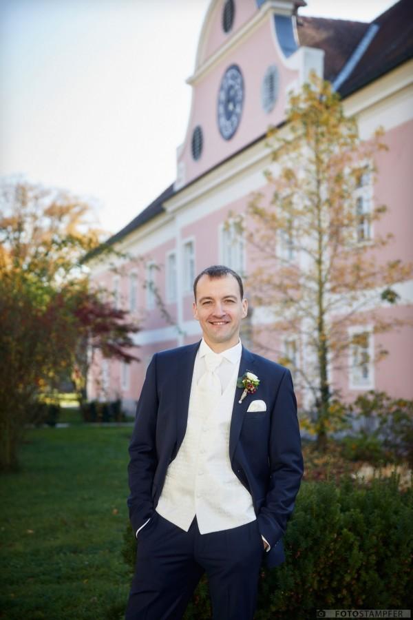 Hochzeit in Neuhofen an der Krems - Gabi und Thomas - Schloss Gschwendt - Hochzeitsfotograf Harald Stampfer