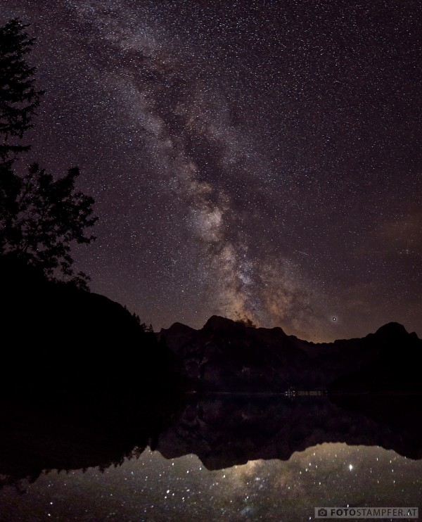 Milkyway over Almsee